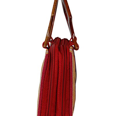 Handicraft Jute HANDLE PURSE test