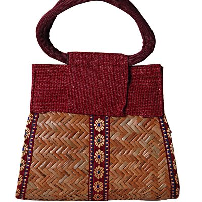 Handicraft Jute HANDLE PURSE test  1